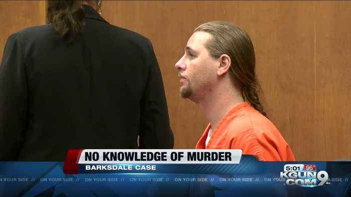 Barksdale co-defendant did not know of alleged murder plot