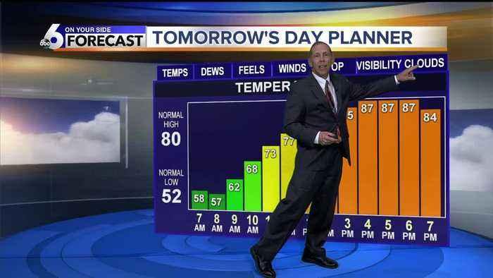 Scott Dorval's On Your Side Forecast 0 9/13/19