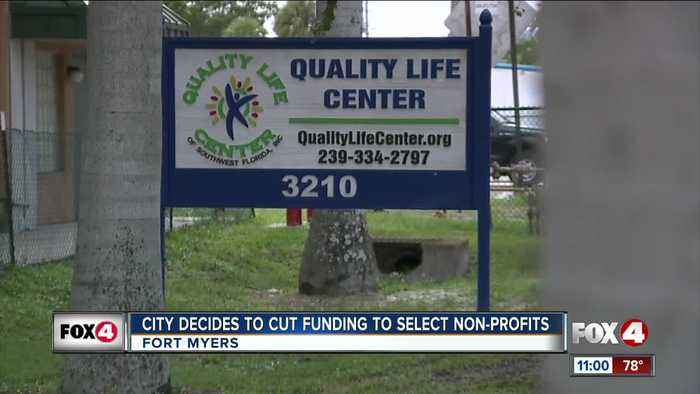 Community organizations upset after the City of Fort Myers recently decided to cut them out of the upcoming budget