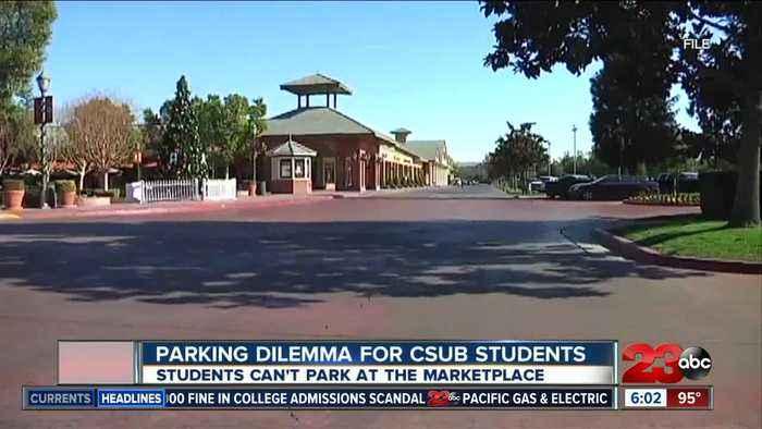 Parking dilemma for CSUB students