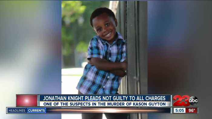 Jonathan Knight pleads not guilty in shooting death of Kason Guyton