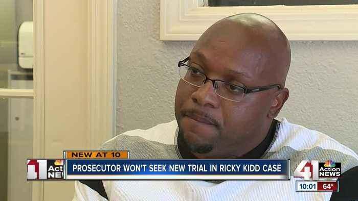Prosecutor won't seek new trial in Ricky Kidd case