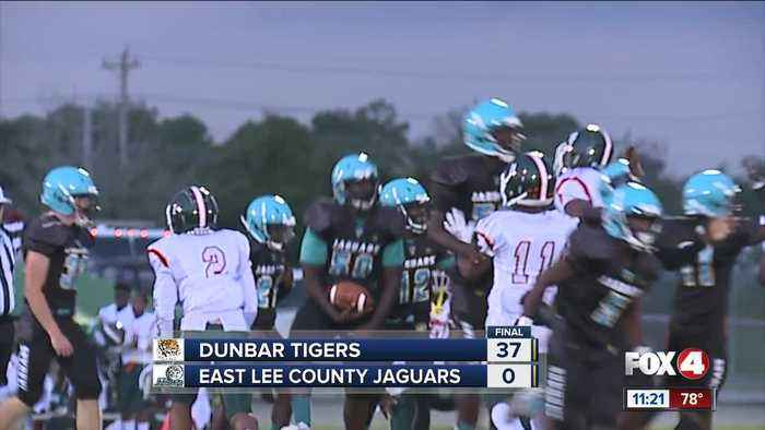 Dunbar Tigers vs East Lee Jaguars