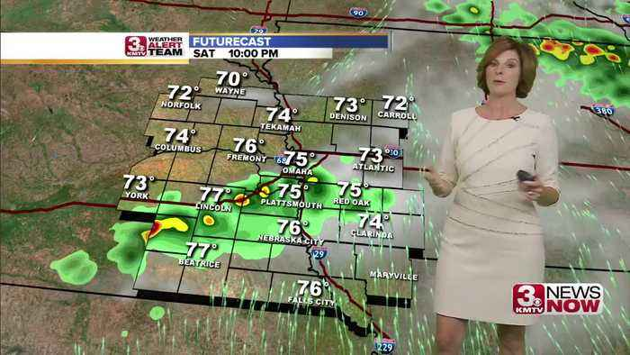 Jennifer's Saturday Forecast