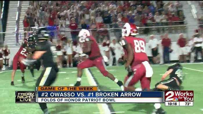 #2 Owasso Rams take down #1 Broken Arrow Tigers, 42-19; Tigers' 15-game winning streak snapped