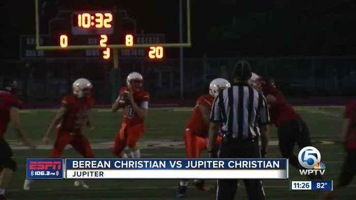 Berean Christian vs Jupiter Christian 9/13