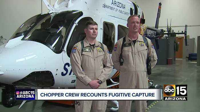 Talking with the DPS pilots who assisted in apprehending Blane and Susan Barksdale