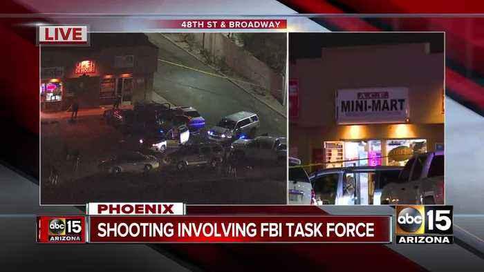MCSO deputy on FBI task force involved in shooting