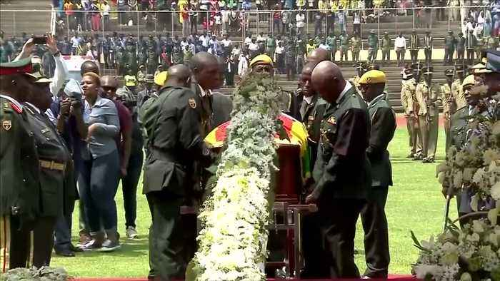 Mugabe's state funeral unfolds in Harare