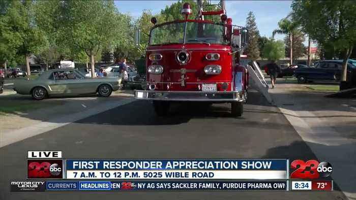 5th Annual First Responder Appreciation Day car show