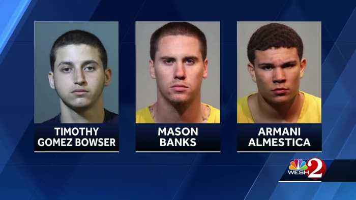 Video shows arrests of burglary suspects in Seminole County