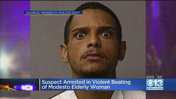 Suspect Arrested In Violent Beating Of Modesto Elderly Woman