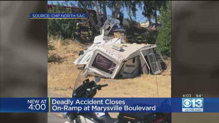 Deadly crash Closes On-Ramp At Marysville Boulevard