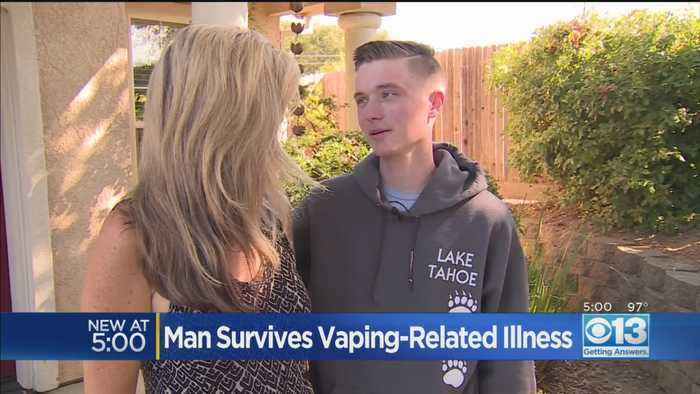 Loomis man survives vaping related illness