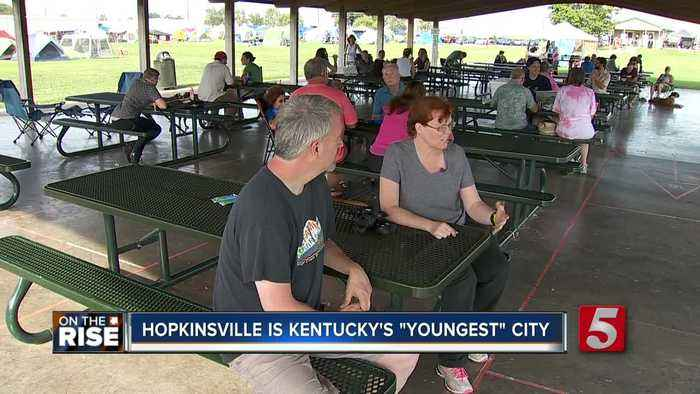 Hopkinsville has the youngest population in Kentucky