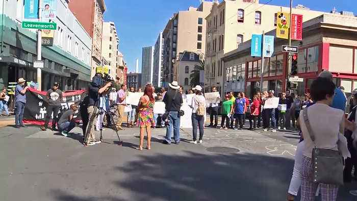 Activists Demand Traffic Safety in S.F. Tenderloin