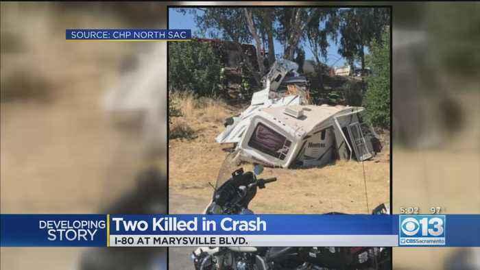 Two Killed In I-80 Crash Near Marysville Boulevard