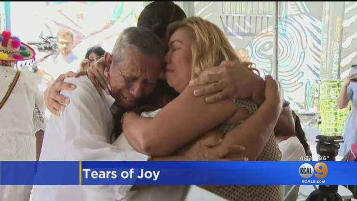 Tears Flow Easily As Immigrant Families Have Reunions 20 Years In The Making
