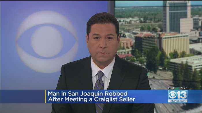 Man In San Joaquin Robbed After Meeting Craigslist Seller