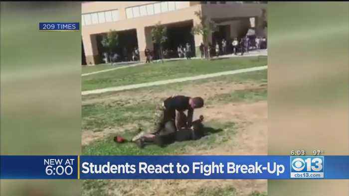 Students React To Fight Break-Up