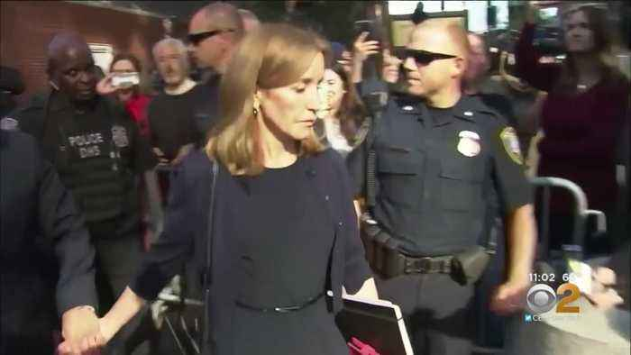Actress Felicity Huffman Sentenced To 14 Days In Prison