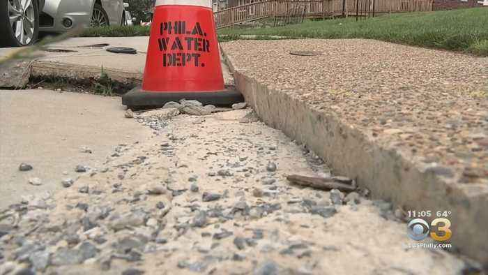 Northeast Philadelphia Residents Ordered To Pay For Sinking Sidewalk Repairs