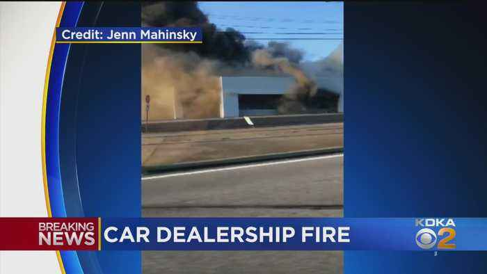 Former Westmoreland Co. Car Dealership Engulfed In Flames