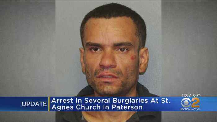 Suspect Arrested In String On Church Burglaries