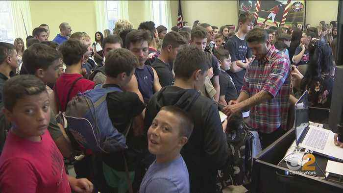 Students Shave Heads To Support Classmate With Cancer
