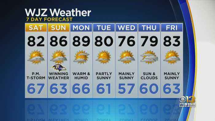 Bob Turk Has An Updated Look At The Forecast