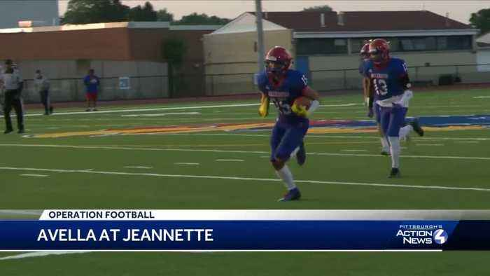 Jeannette shuts out Avella