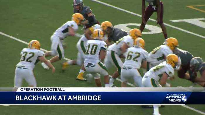 Blackhawk shuts out Ambridge