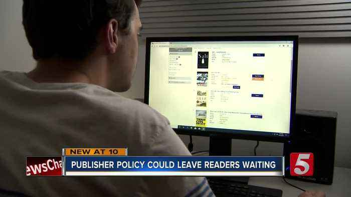 Nashville Public Library says publisher's plan will keep e-readers waiting