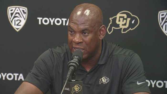CU Buffaloes Coach Mel Tucker Stays Cool Under Pressure