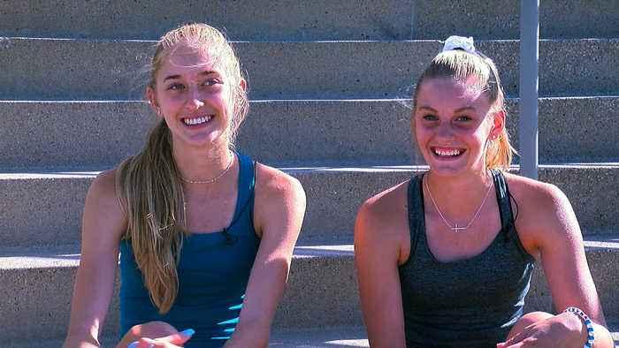 The Fenske Sisters' Cross-Country Rivalry