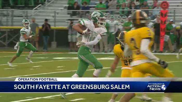 South Fayette shuts out Greensburg Salem