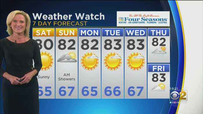 CBS 2 Weather Watch 10 p.m. 9-13-19
