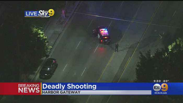 1 Fatally Shot In Harbor Gateway, Police Searching For Suspected Shooter