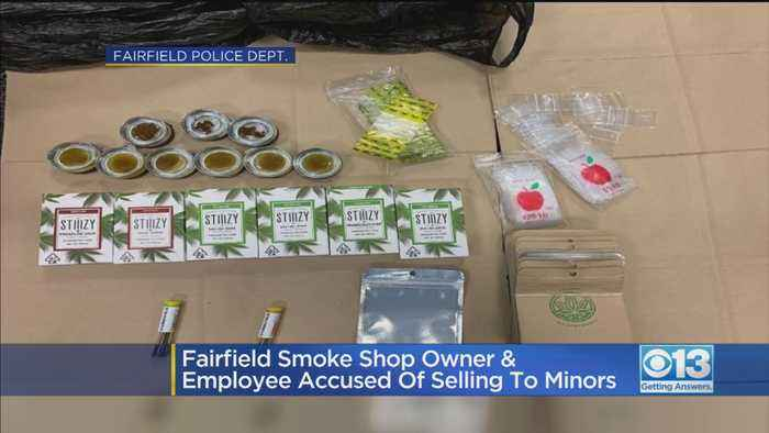Fairfield Smoke Shop Owner & Employee Accused Of Selling To Minors