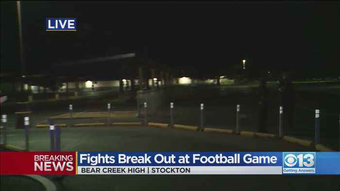 Fight Breaks Out At Bear Creek Football Game
