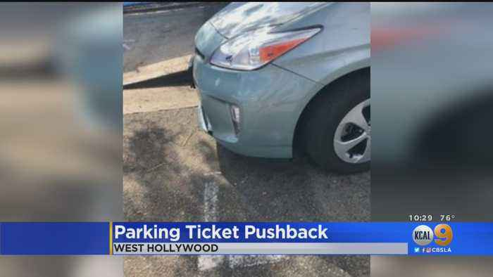 Woman's Frustrated Tweet Over Parking Ticket Leads To 'Fine' Ending