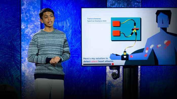 A life-saving device that detects silent heart attacks   Akash Manoj