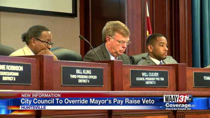City Council To Override Mayor's Pay Raise Veto