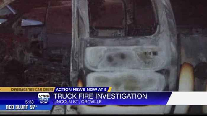 Truck Fire Investigation