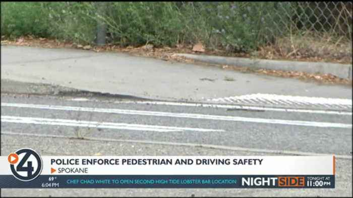 SPD work to lower pedestrian crashes with a patrol emphasis