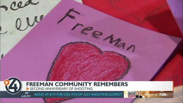 Two years after tragedy struck, community is still #FreemanStrong