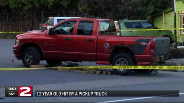 12-year-old boy airlifted to Syracuse Hospital after being hit by a truck in Old Forge