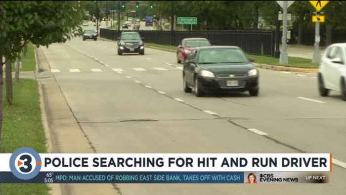 MPD asking for public's help finding driver who hit pedestrian, left him in street Thursday night