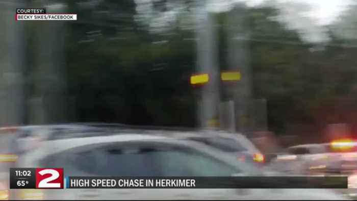 High Speed Chase Ends in Herkimer