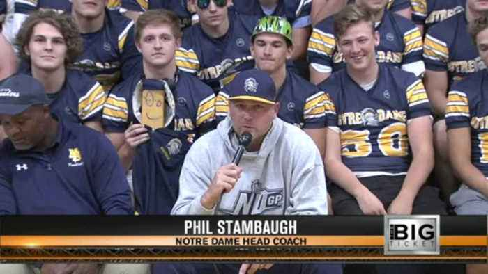 Big Ticket - Notre Dame Head Coach